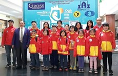 Vietnamese young masters win medals at Asian champs