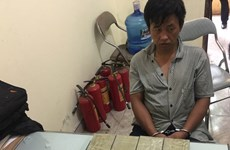 Bac Ninh: Heroin transporter arrested