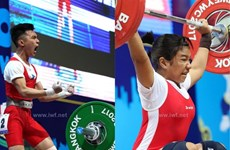 Women earn weightlifting berth at Youth Olympics
