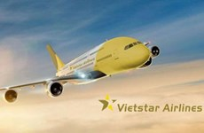 Vietstar Airlines waits for take-off