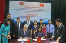 Labour unions of Hanoi, Belarus city strengthen cooperation
