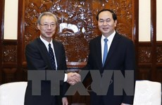 President praises Vietnam News Agency-Kyodo cooperation