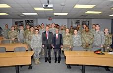 Vietnamese ambassador visits US Military Academy