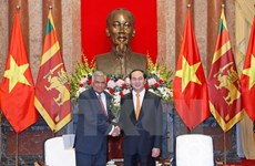 President reiterates Vietnam's policy of valuing ties with Sri Lanka