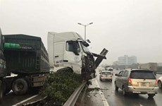 Traffic accidents in Hanoi slightly decrease