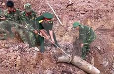 Quang Tri unearths 240-kg bomb