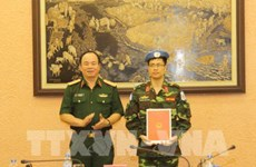 More Vietnamese officer joins UN peacekeeping mission