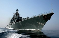 Two Russian naval ships visit Philippines