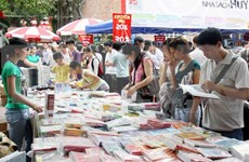 Book festival opens in Hanoi