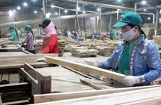 Wood exports surge 17.1 percent in Q1