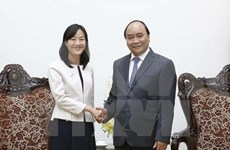 Prime Minister receives CEO of Taiwan's Pou Chen Group