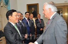 Vietnam, US talk to strengthen bilateral ties