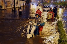 HCM City seeks funds for 36 flood projects