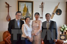 Vietnam shares joy with Laos over Bul Pi May festival in Geneva