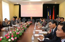 Workshop seeks to improve Vietnamese language teaching in Ukraine