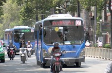 Ho Chi Minh City works to extend CNG bus routes