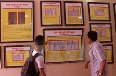 Hoang Sa, Truong Sa exhibitions held in Nghe An, An Giang