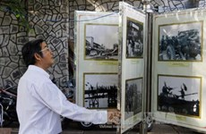 Photo exhibition on 1975 victory opens in Can Tho