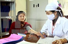 About 12 mln Vietnamese suffer from hypertension