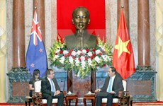 President hopes NZ to join economic development in Vietnam
