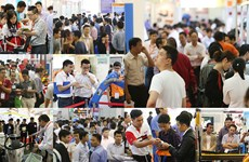 Vietnam Manufacturing Expo 2017 opens