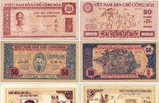 Currency history exhibition opens to mark Liberation Day