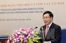 Deputy PM chairs meeting on ODA, preferential loans use