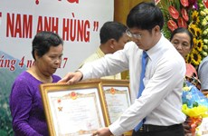 Tay Ninh: 15 women awarded with Vietnamese Heroic Mother title