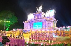 Hue traditional craft festival wraps up