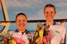 Kazakhstan named champions at women's beach volleyball tourney