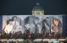 Royal compositions played at special concert to honour late Thai King