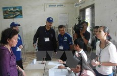 Cambodia ensures safety for communal election