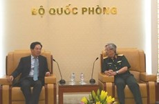 Deputy Defence Minister greets Chinese Ambassador