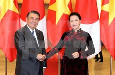 Top Vietnamese, Japanese legislators hold talks