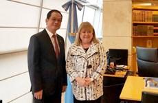 Vietnamese ambassador gets Argentinean friendship order