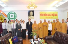 VFF leader extends greetings on Buddha birthday
