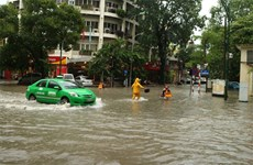 Hanoi's flooding hotpots galore, officials warn