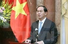 Partnership intensification matches VN-China's basic interests: President