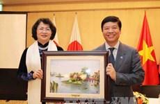 Vice President Dang Thi Ngoc Thinh begins Japan visit