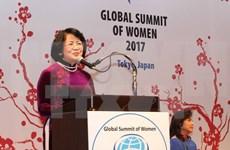 Vietnam active in Global Summit of Women in Tokyo