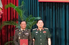 Cambodian generals get PhD degrees in Vietnam