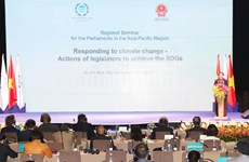 Regional legislatures called to do more in climate change response