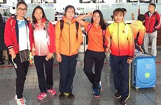 Vietnam grabs bronzes at Asian wrestling championships
