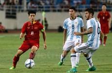 Argentina batter U22 Vietnam in Hanoi