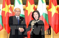 Vietnamese, Myanmar top legislators hold talks to seek stronger ties