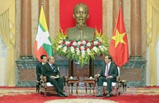 Myanmar top legislator wraps up Vietnam visit