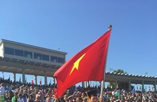 Grandmaster Liem represents Vietnam at US university graduation