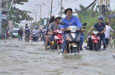 HCM City to install sensor chips at flooding hotspots