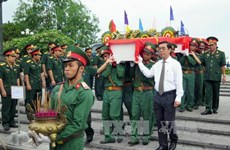 Remains of Vietnamese martyrs reburied in Quang Tri