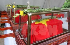Remains of Vietnamese martyrs reburied in Quang Binh
